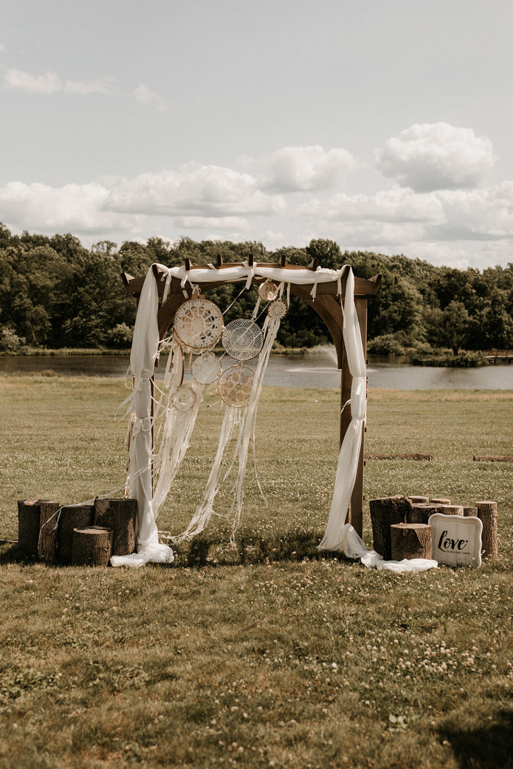 Rustic Luxe Ethical Wedding At Born To Run Farm, New Jersey