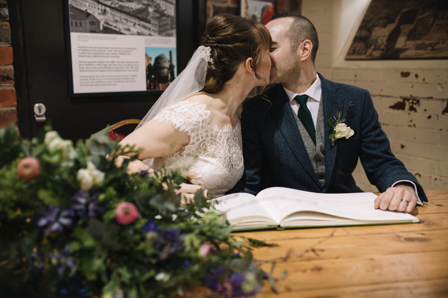 A Yorkshire Irish Party City Wedding At Kelham Island Museum, Sheffield