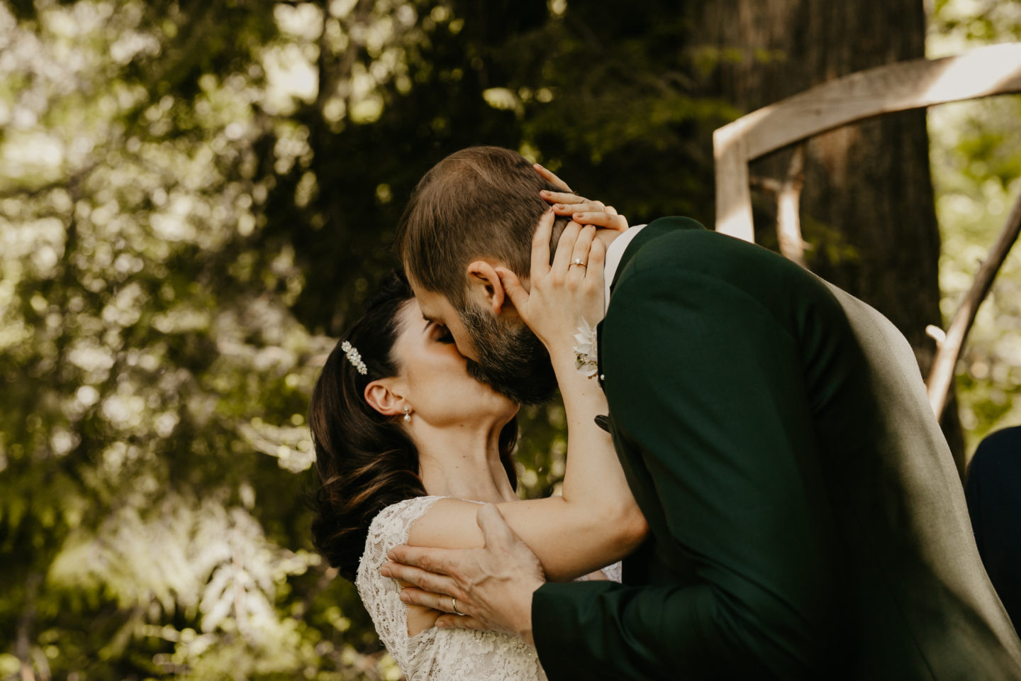 Intimate Woodland Wedding at Treehouse Point, Seattle