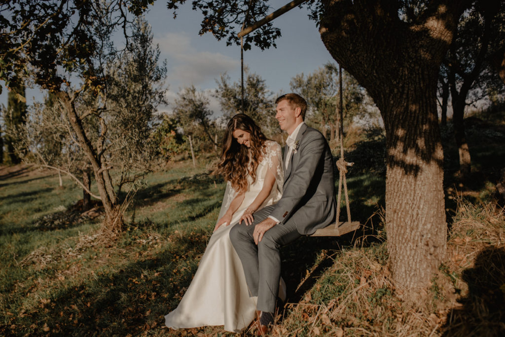 Dreamy Italian Elopement at The Lazy Olive, Tuscany