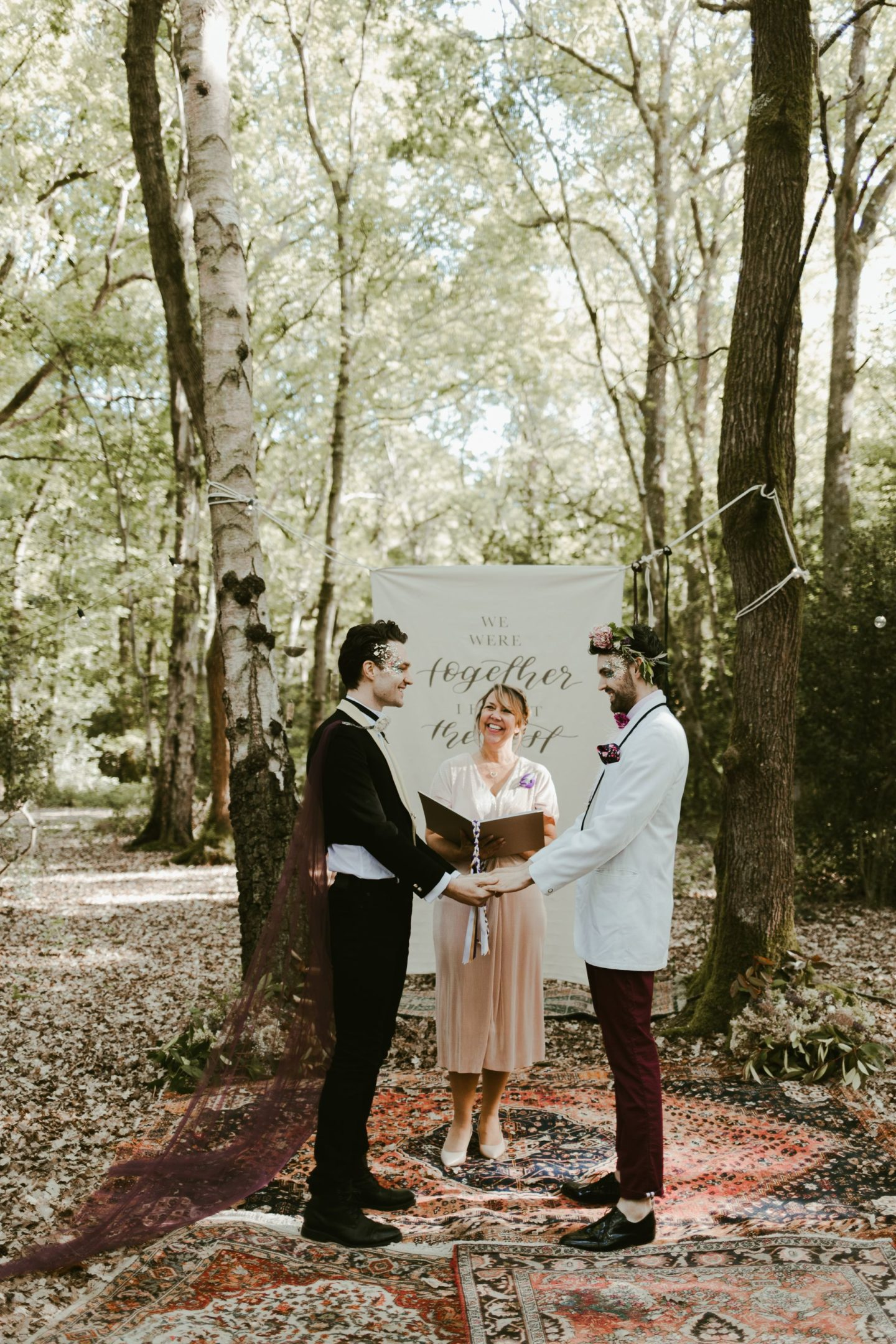 Boho Chic Festival Picnic Wedding With Eclectic Styling