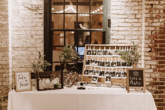Wedding Guest Book Table Ideas