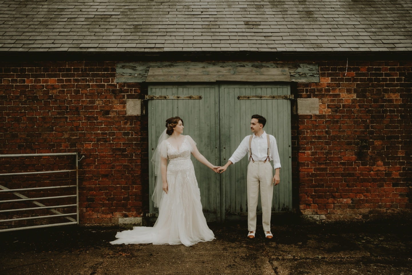 Romantic Intimate Wedding Inspiration With Vintage Vibes At Manor Farm