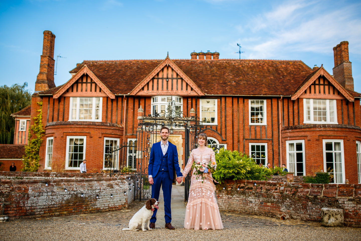An Intimate and Ethical Civil Partnership At Boxted Hall, Suffolk