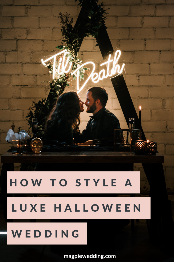 How To Style A Halloween Wedding In A Luxe Autumnal Way