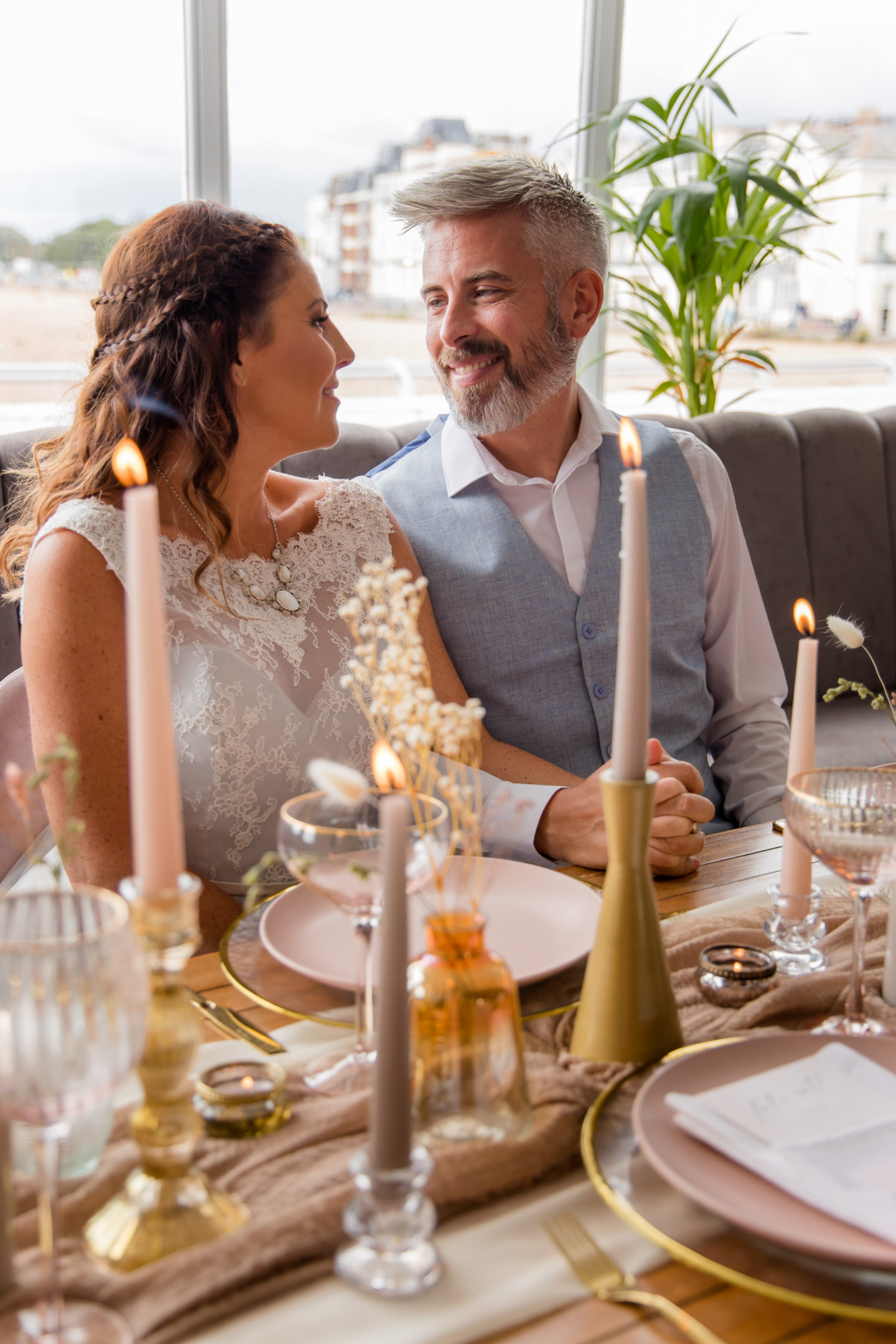 Luxury Seaside Inspired Wedding Inspiration at The Gaiety Bar, Southsea