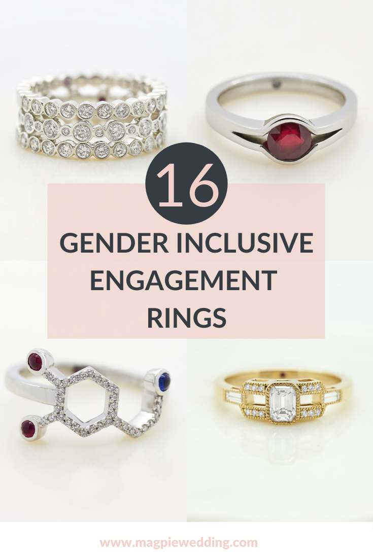 16 Gender Inclusive Engagement Rings By Taylor and Hart