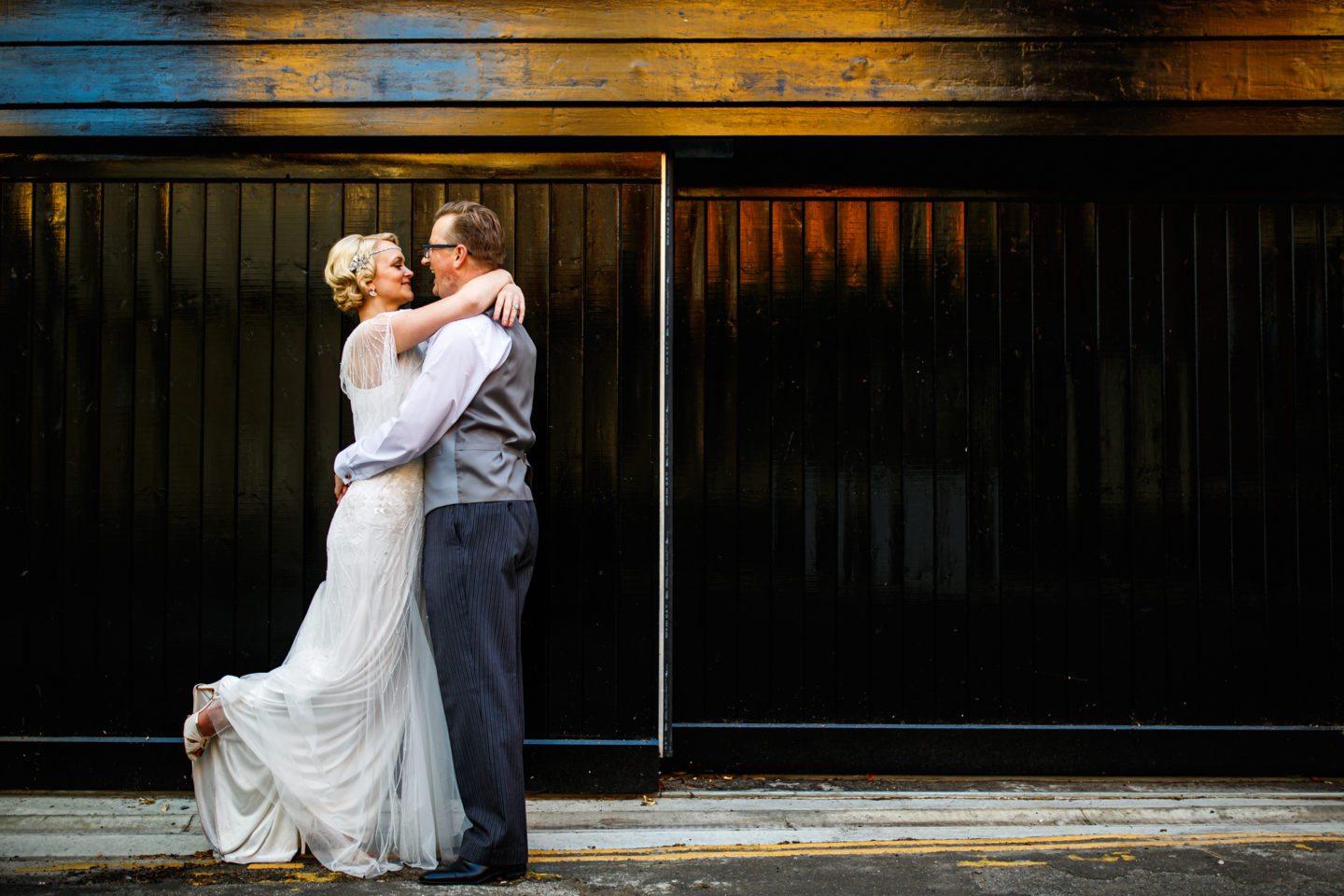 Intimate Wedding At Cambridge Registry Office With 1920s Inspired Wedding Dress