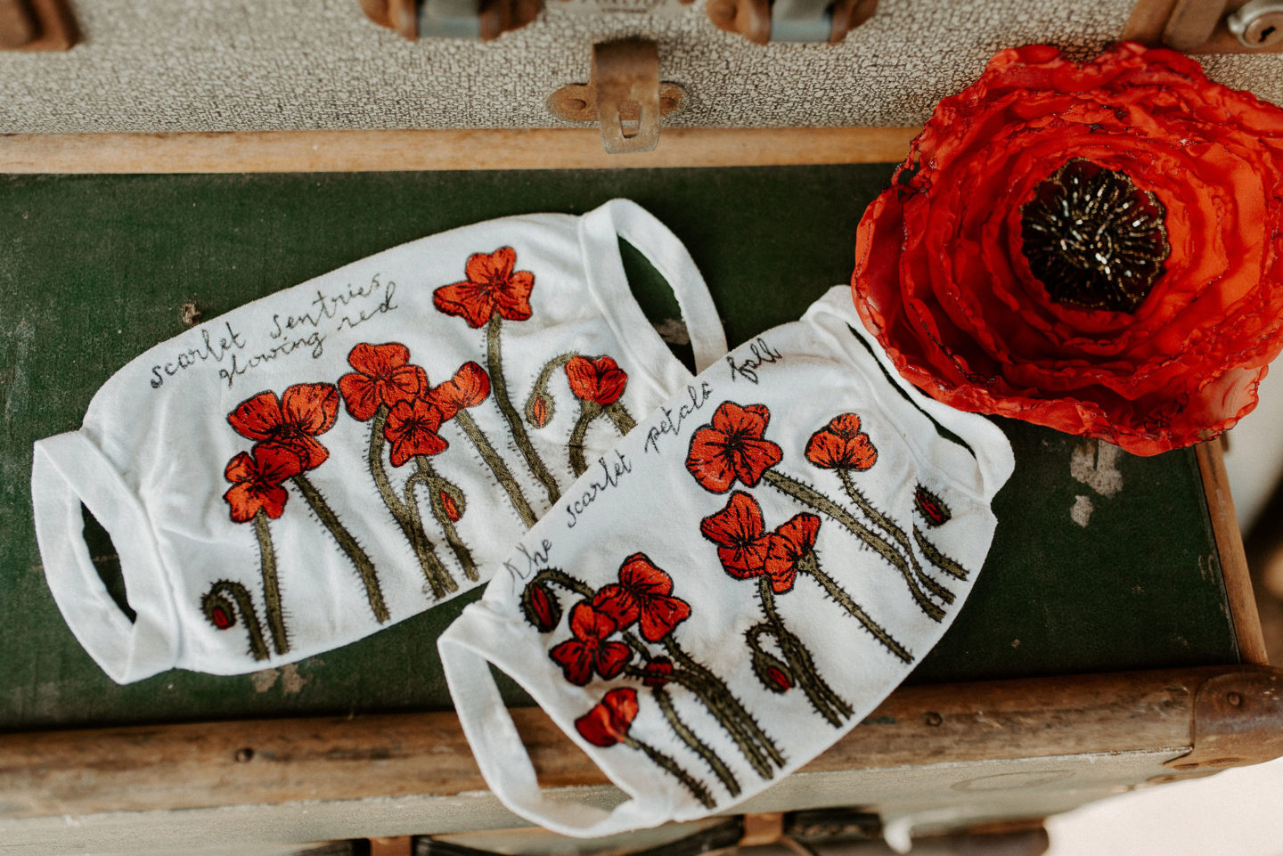 Vintage Railway Wedding Inspiration For 'The Poppy Appeal'