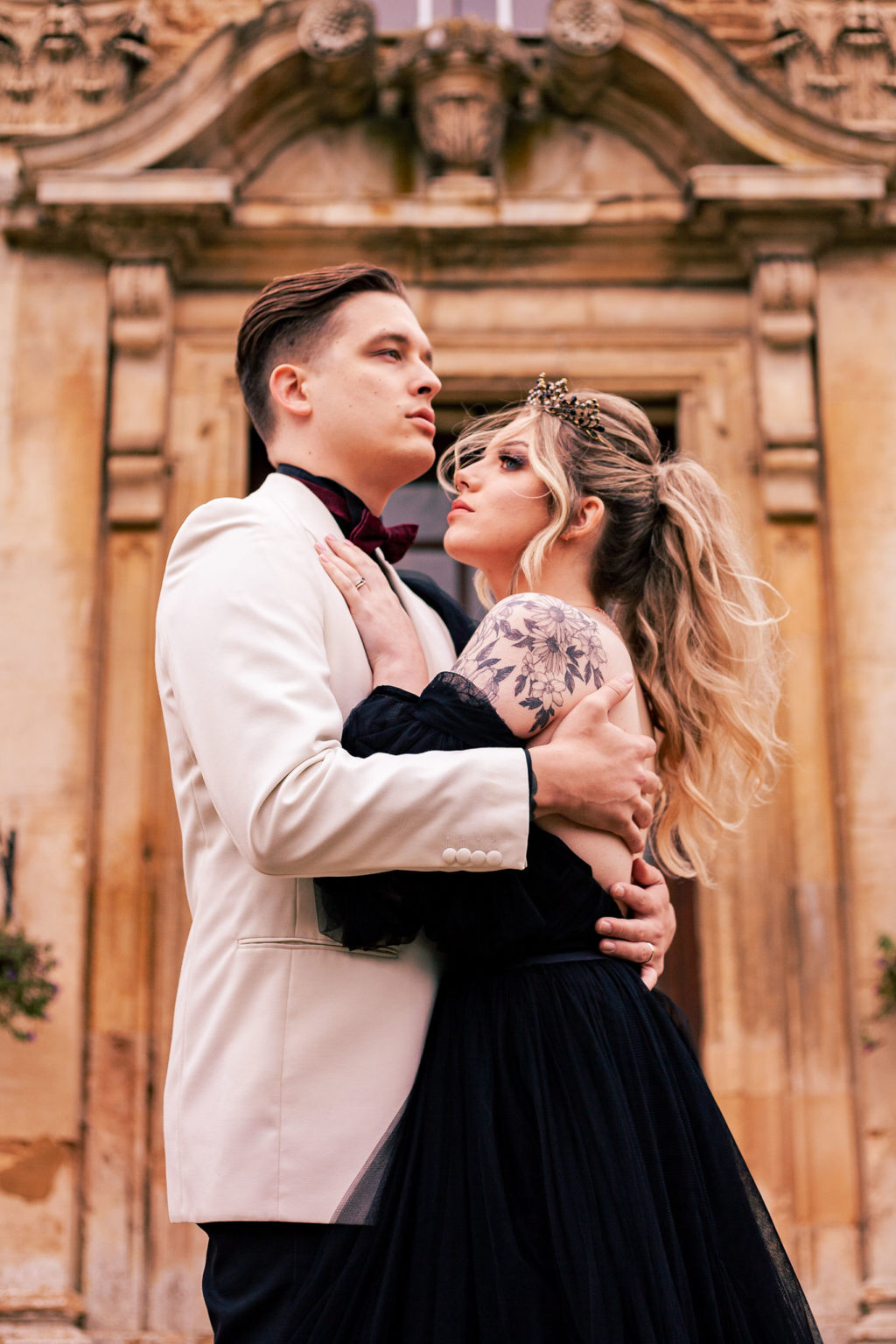 Eclectic Wedding Inspiration With Colour Pop Styling At Hinwick Hall Northamptonshire