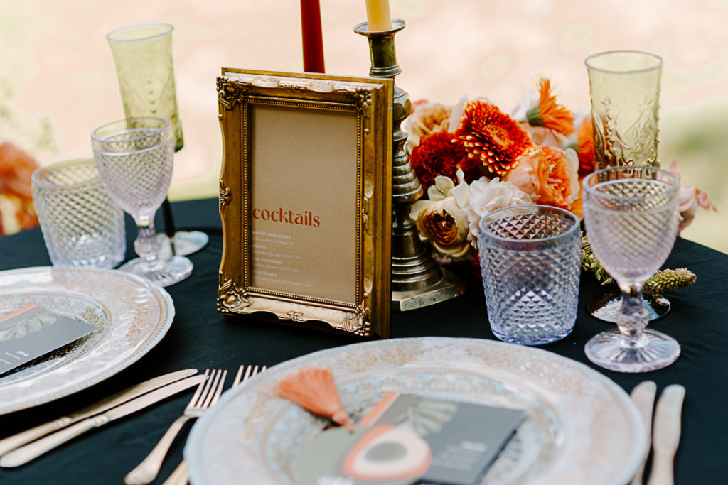 1970s Glam Rock Wedding Inspiration at Marden House Mansion