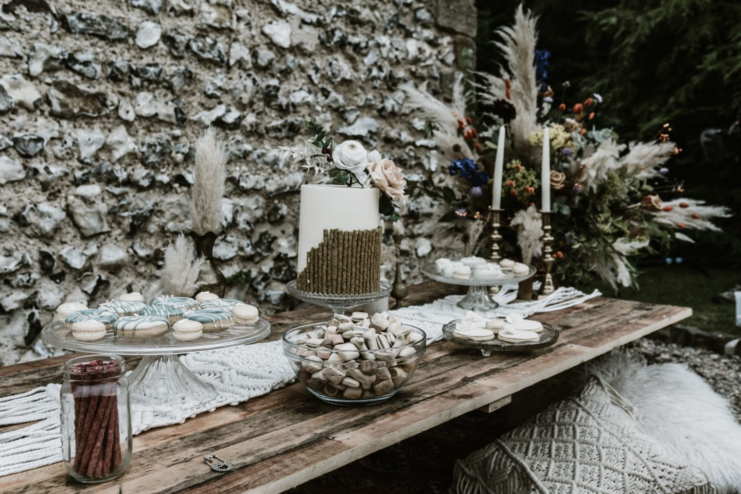 Dog Wedding With Doggy Ice Cream Reception at The Lost Village of Dode Kent