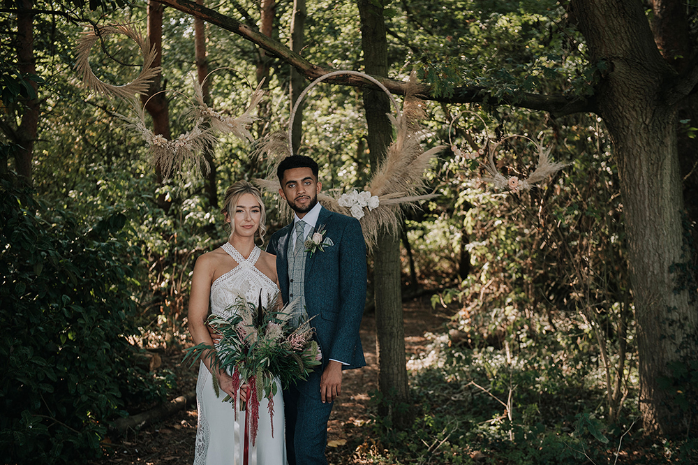 Relaxed Boho Wedding With Hand Fasting Ceremony at All Manor of Events Suffolk