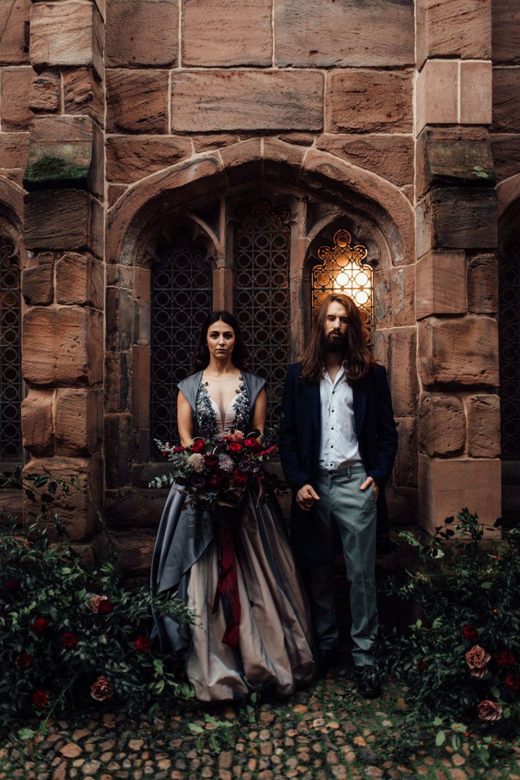 Beauty and The Beast Inspired City Wedding in Manchester