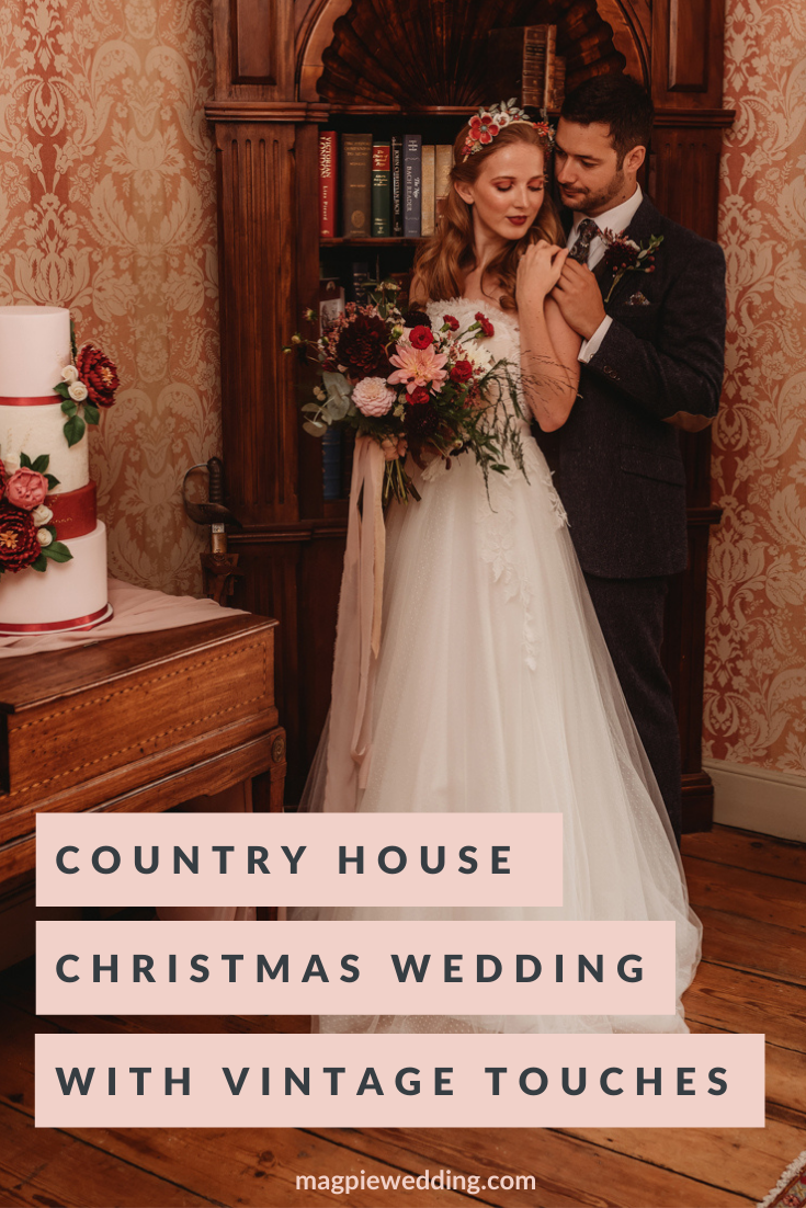 Country House Traditional Christmas Wedding in Cambridgeshire