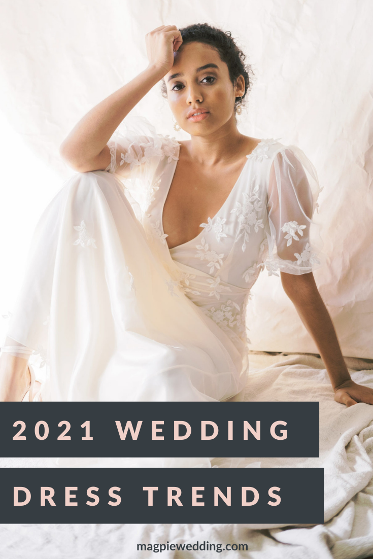 2021 Bridal Trends: Top 5 New Year Wedding Dress Trends