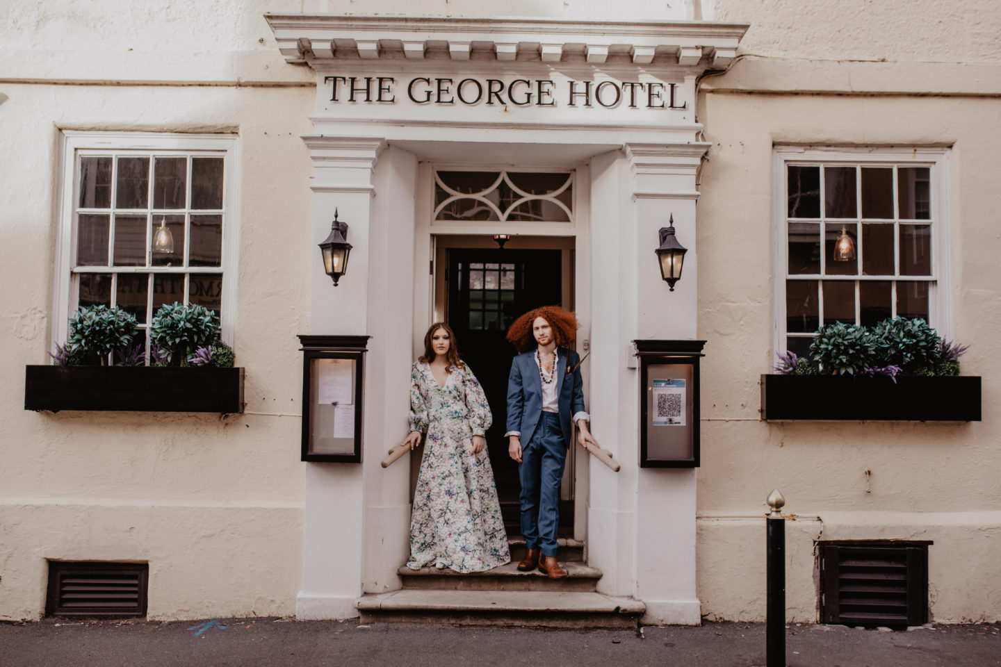 1970s Wedding With Decadent Details at The George Hotel, Isle of Wight