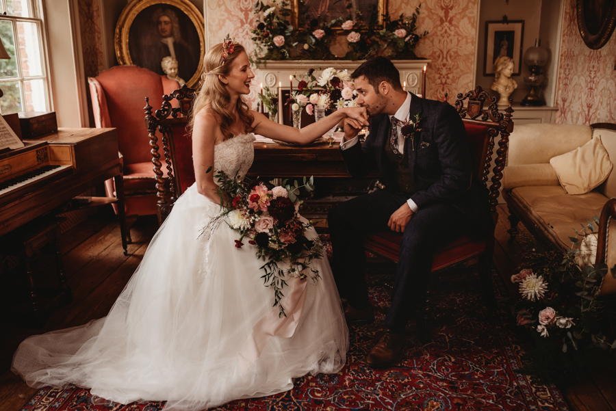 Traditional Country House Christmas Wedding in Cambridgeshire