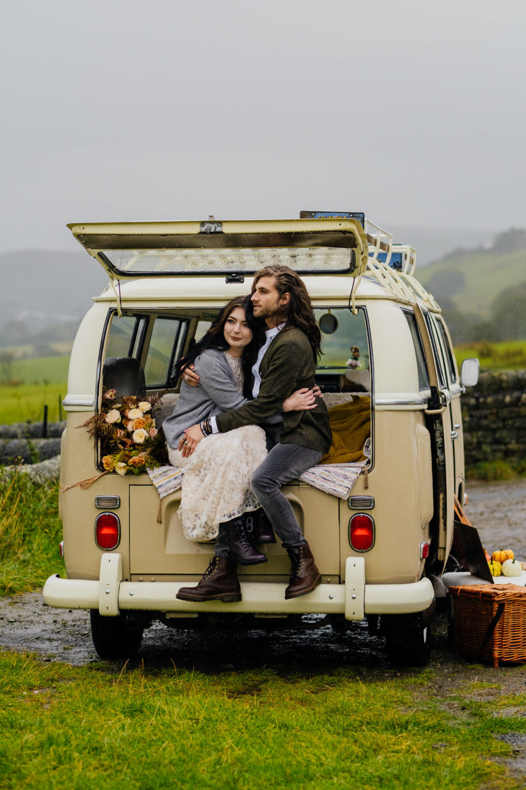 Romantic Intimate Elopement at Saddleworth Moor Yorkshire