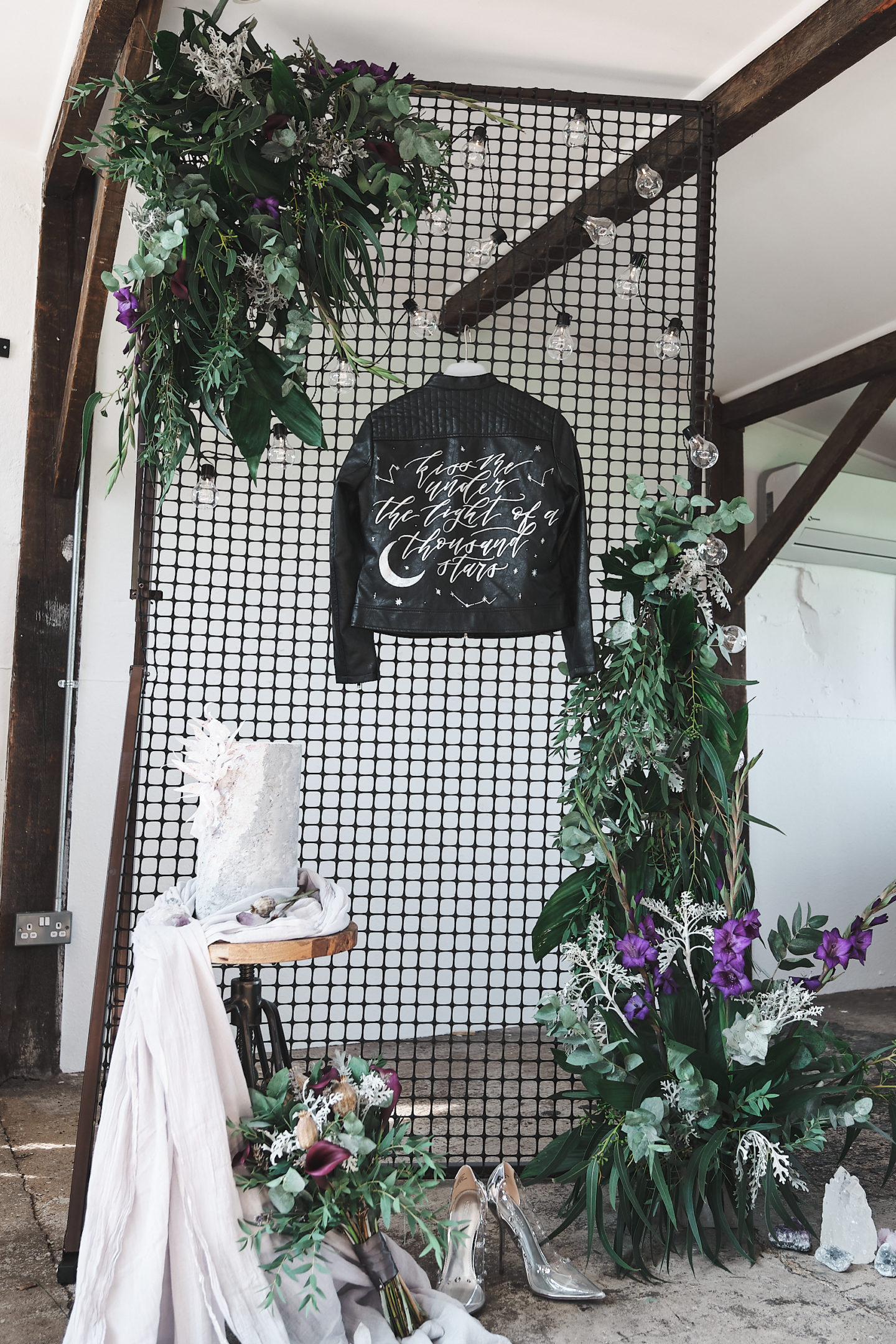 Industrial Luxe Wedding With Celestial Vibes At The Old Joinery, Essex