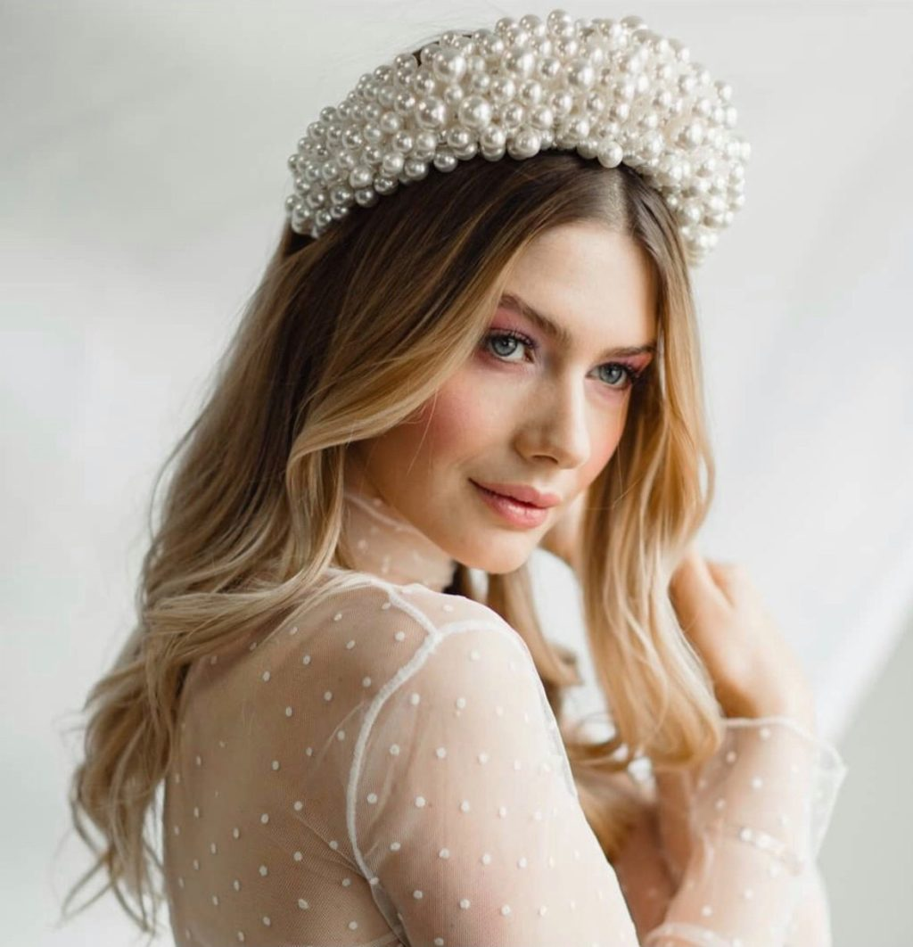 Our Favourite Bridal Head Bands Inspired by Amanda Gorman's Inauguration Look