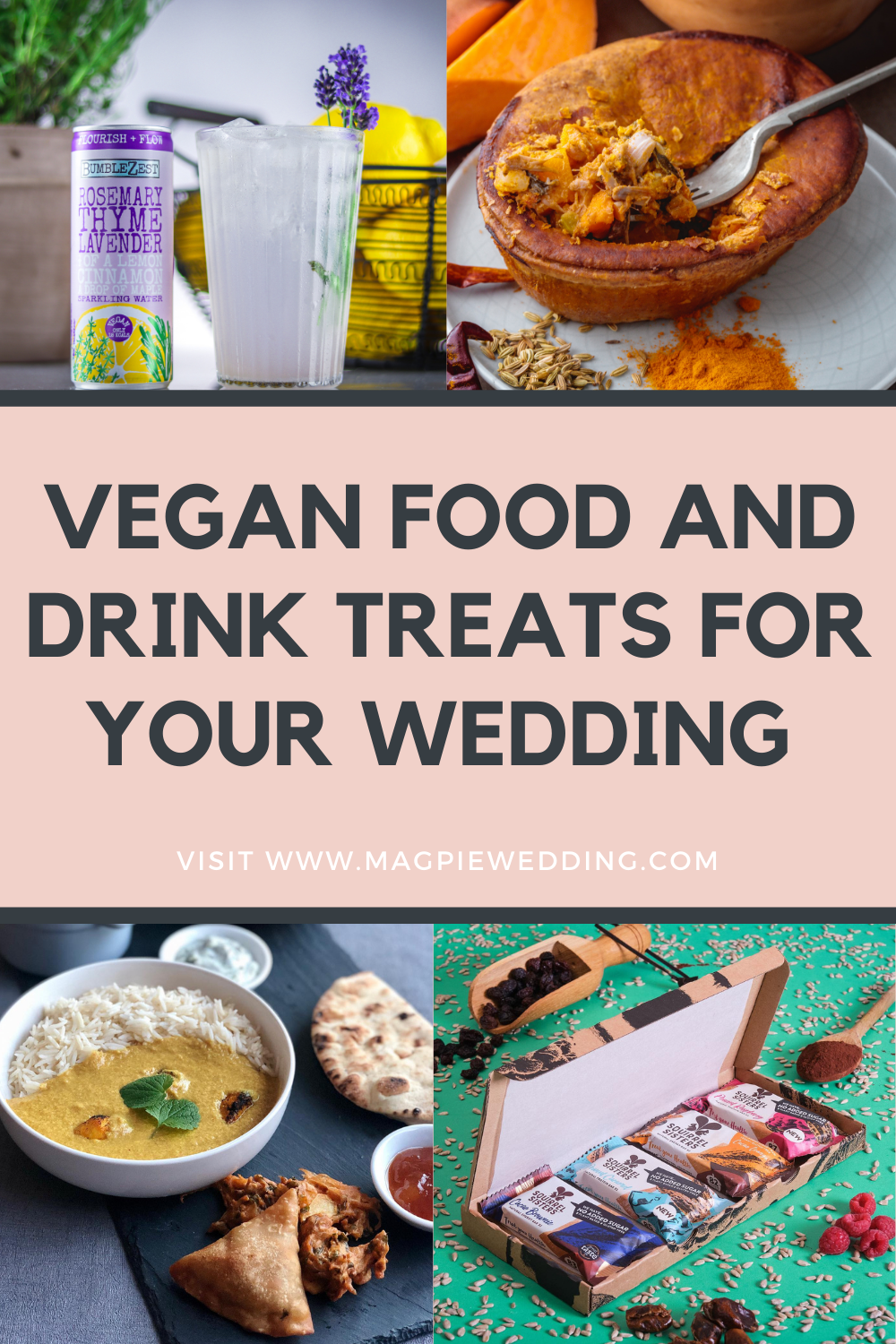 7 Vegan Food Treats For Veganuary & Your Wedding Day