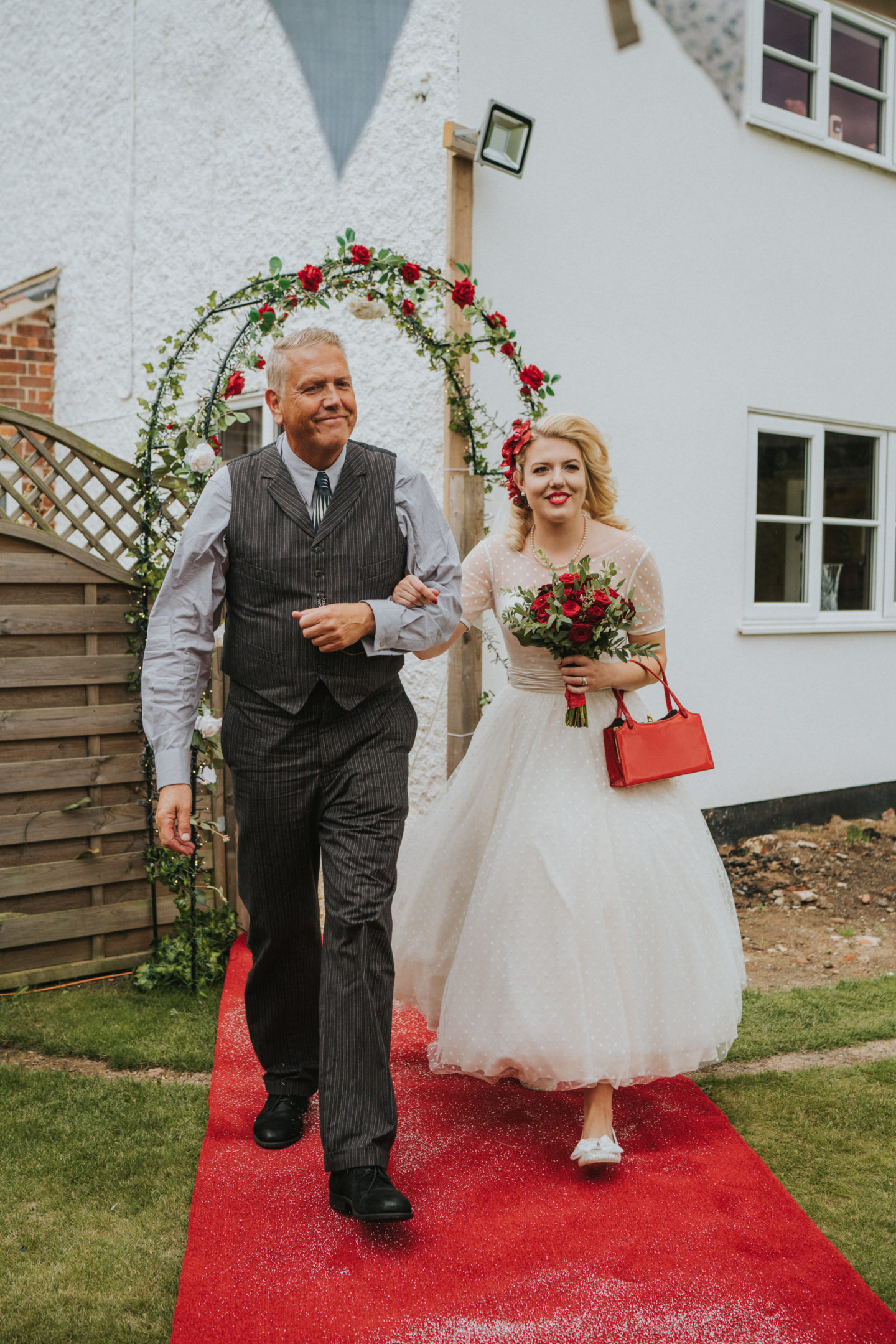 Intimate Ethical DIY Wedding With Vegan Food and Vintage Vibes