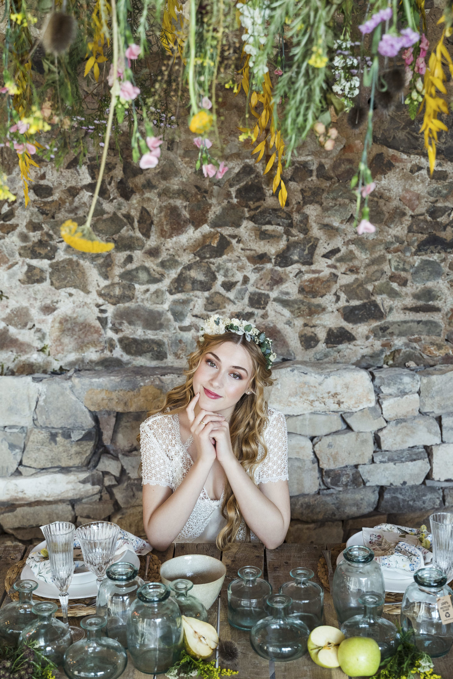 Ethical Wedding Inspiration With Sandra Jorda Dress In Barcelona, Spain