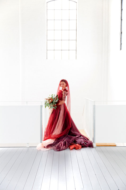 Our 5 Favourite Red Weddings: Red Wedding Dresses For the Alternative Bride