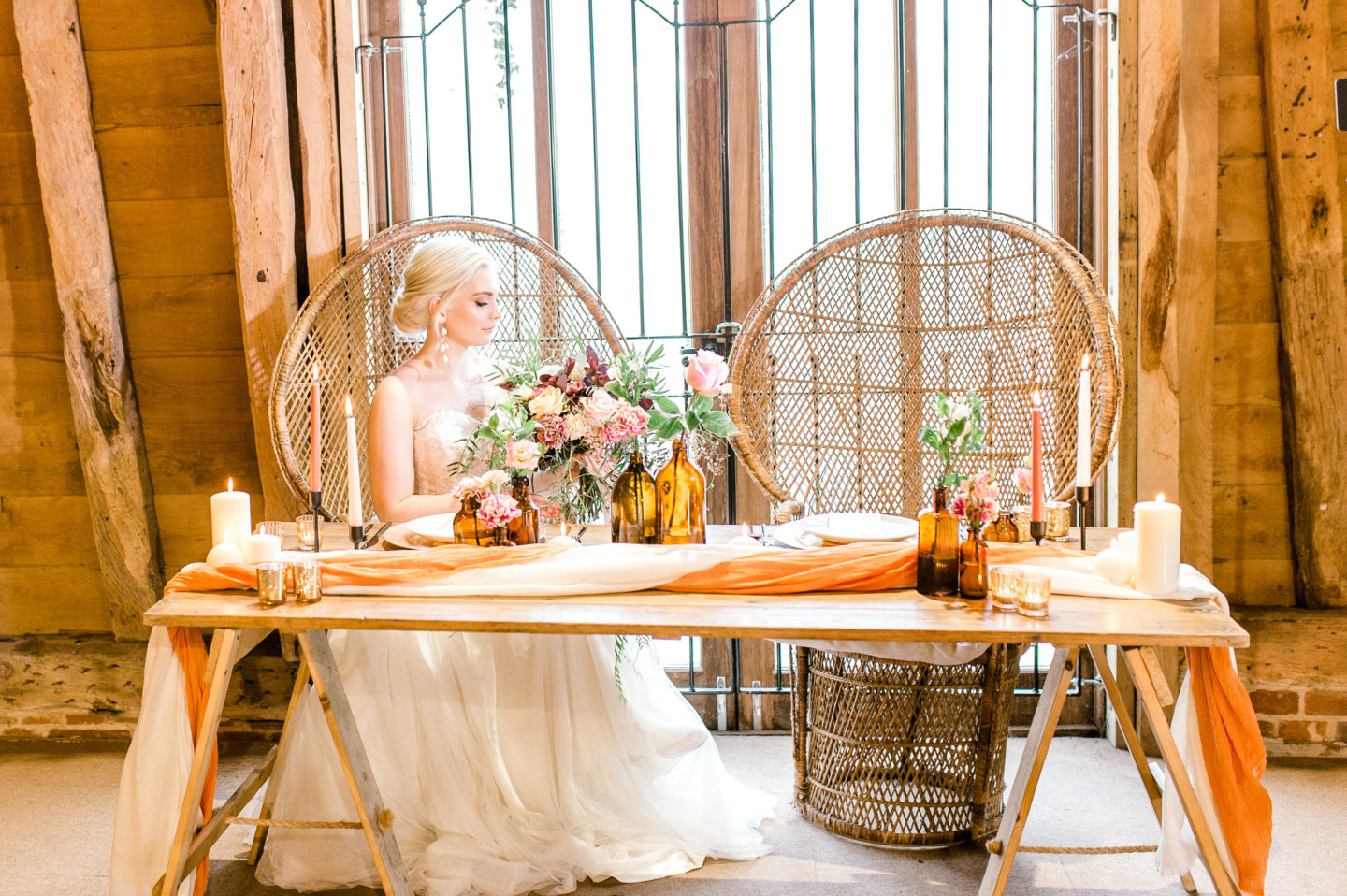 Rustic Luxe Tea Party Wedding At Little Tey Barn, Essex