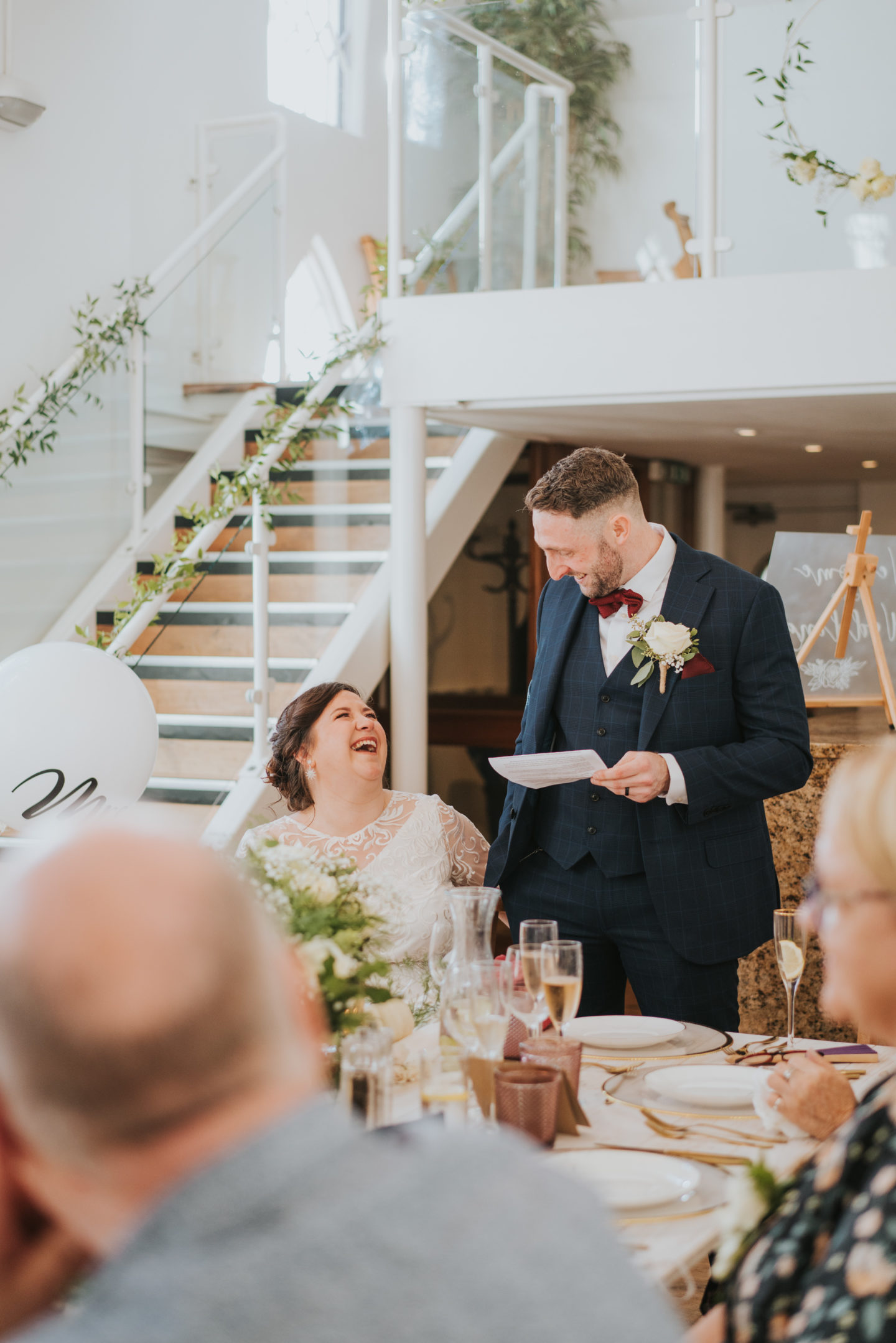 Marry Now Party Later; Intimate Wedding At The Old Parish Rooms