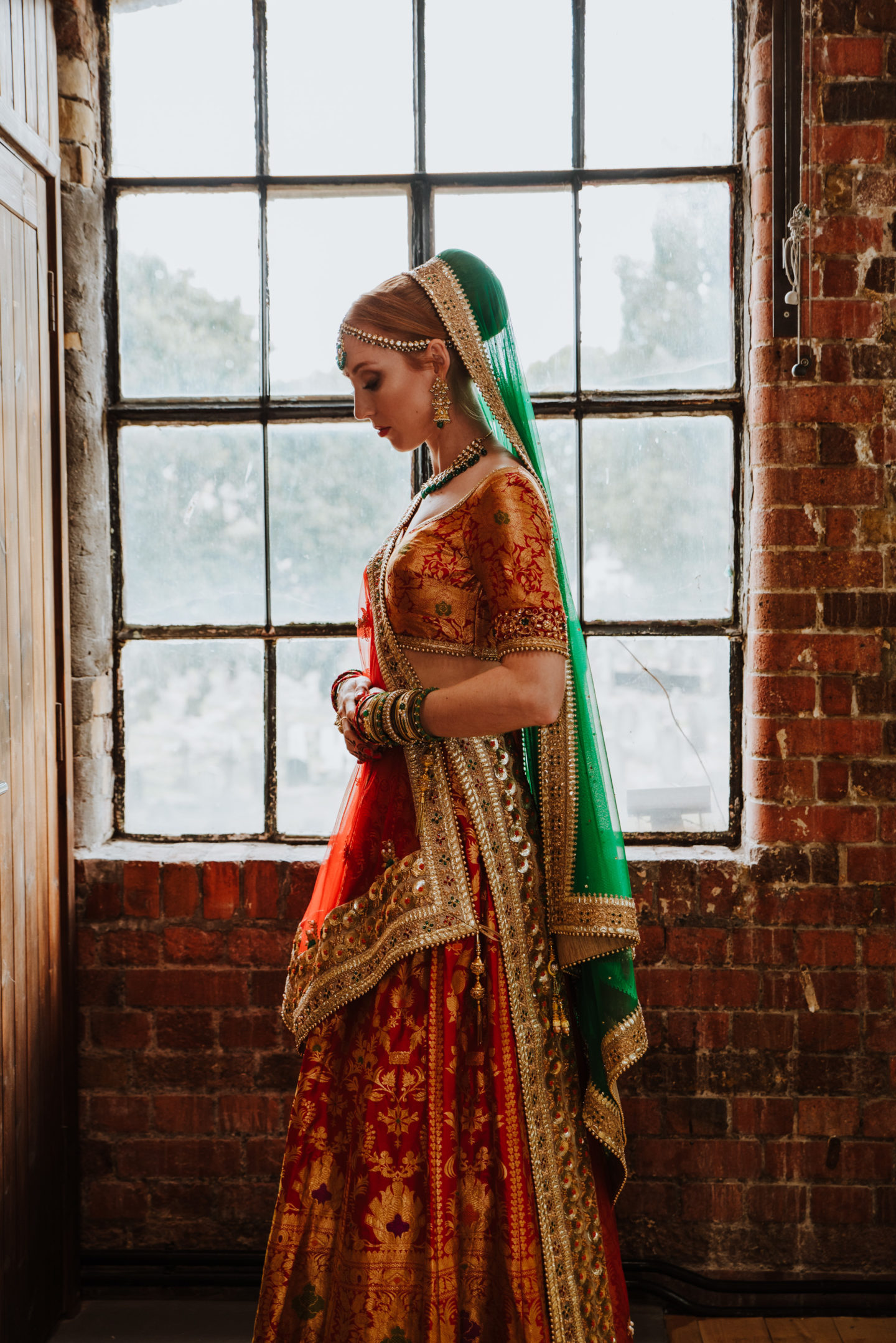 Multicultural Two Day Wedding With Traditional Indian Dress In West London