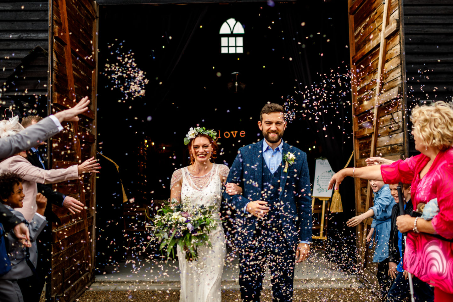 Rustic Chic Bluebell Inspired Wedding At Preston Court Kent