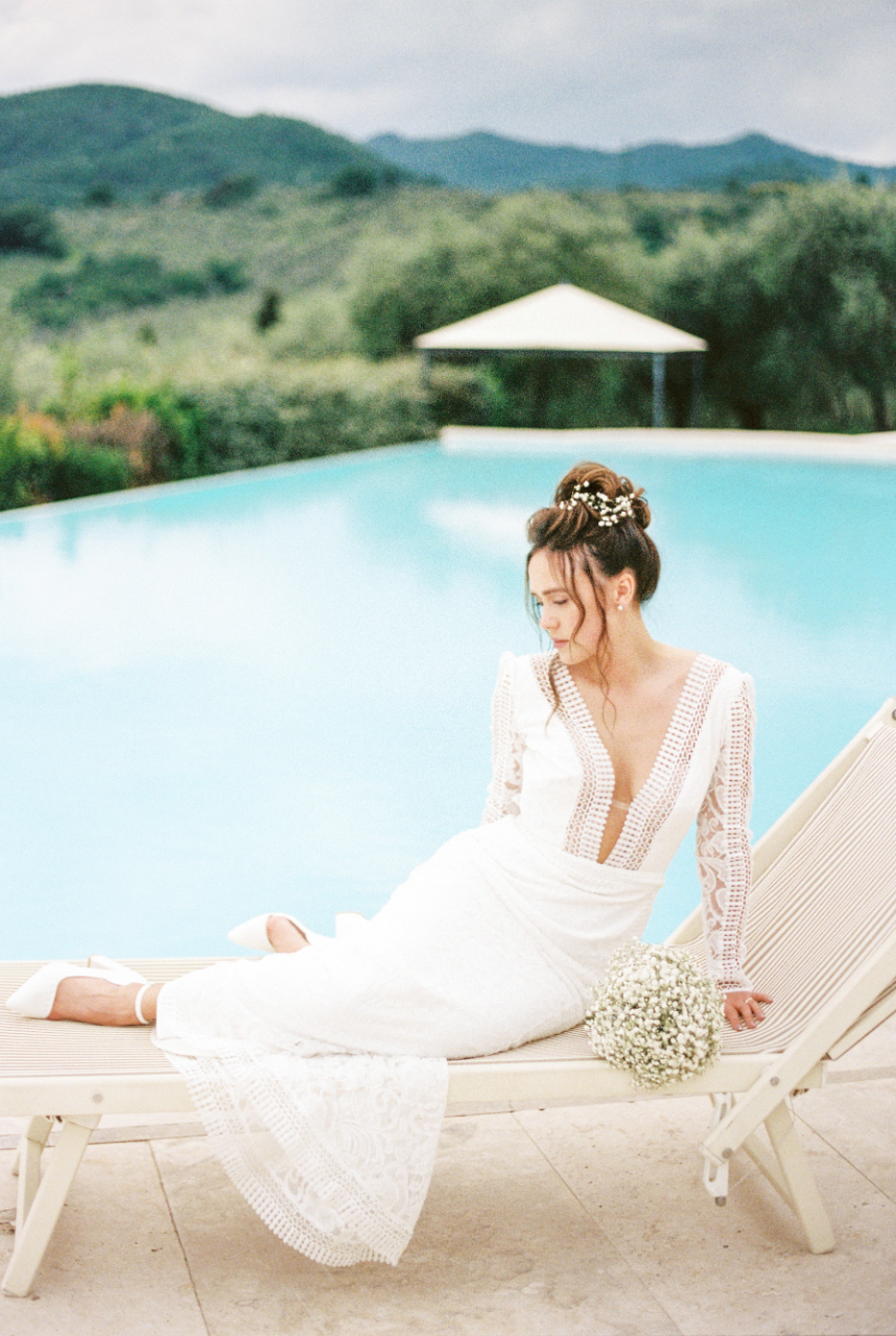 Modern Italian Wedding In Tuscany With Luxury Details