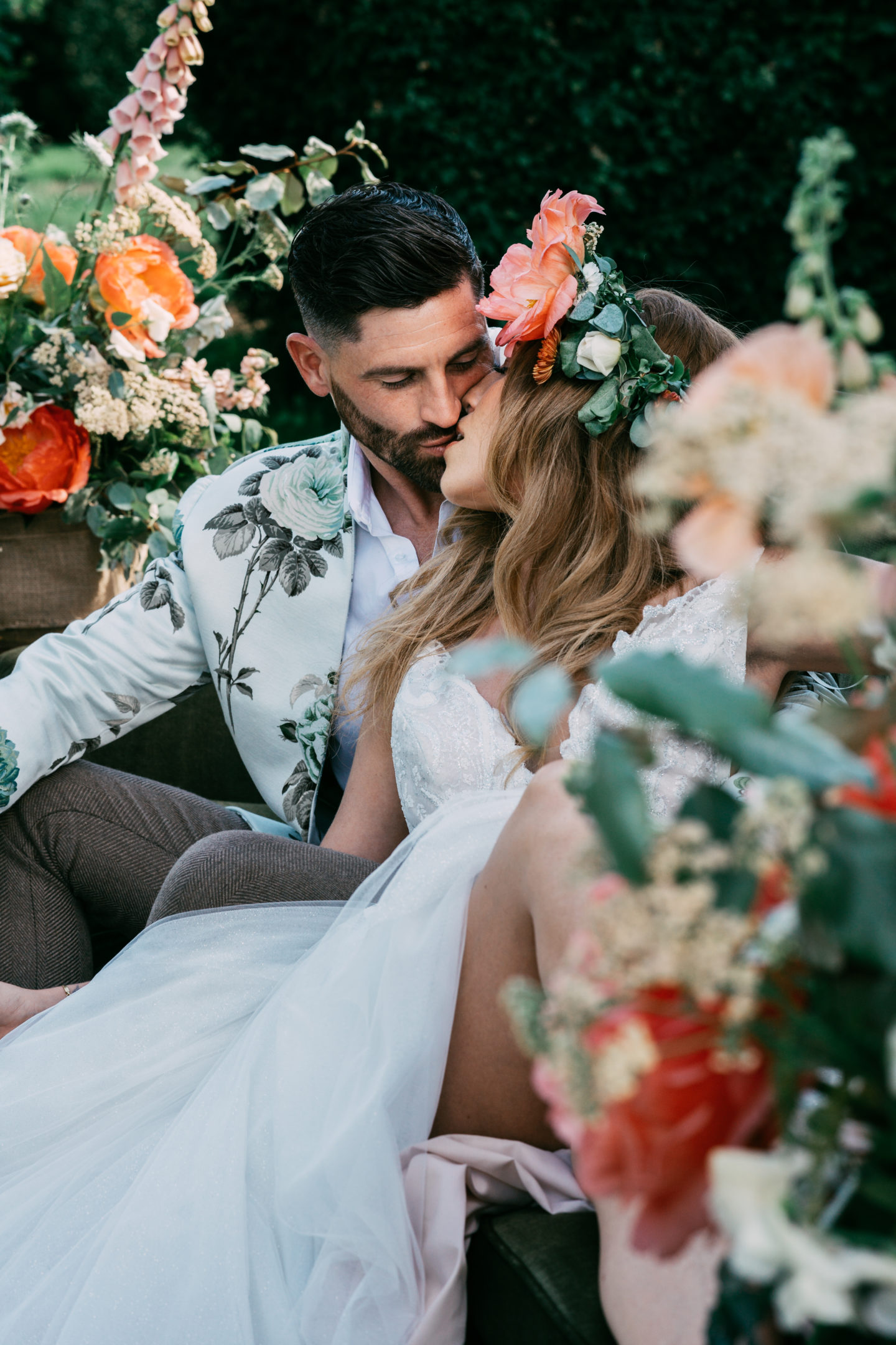 Floral Inspired Country Garden Wedding At The Gardens, Kent
